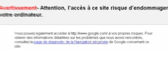 Un Google bug?